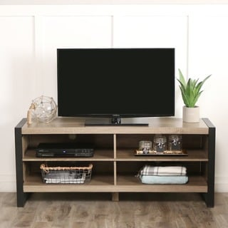 58-inch Urban Blend Wood TV Stand