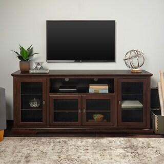 "70"" Highboy TV Stand Console - Espresso - 70 x 16 x 30h"
