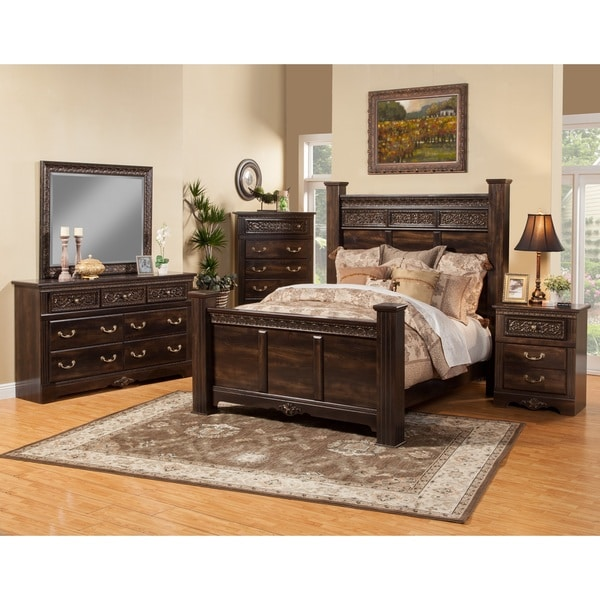 Sandberg Furniture Andorra 4 Piece Bedroom Set - Free Shipping ...