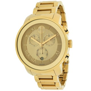 Link to Movado Women's 3600209 'Bold' Chronograph Gold-Tone Stainless Steel Watch Similar Items in Men's Watches