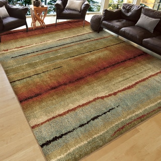 Carolina Weavers Grand Comfort Collection Field of Vision Multi Area Rug (9' x 13')