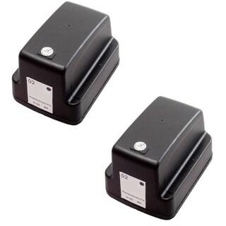 2 Pack HP 02 Black C8721WN Ink Cartridge (Pack of 2)