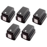 5 Pack HP 02 Black C8721WN Ink Cartridge (Pack of 5)