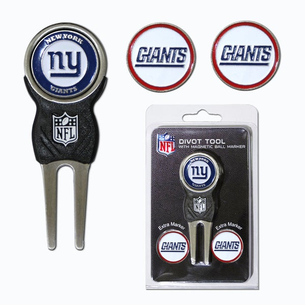 NFL New York Giants Golf Divot Tool Pack