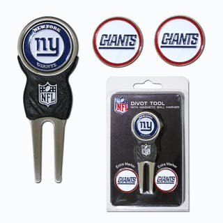 NFL New York Giants Golf Divot Tool Pack|https://ak1.ostkcdn.com/images/products/10309815/P17421996.jpg?impolicy=medium
