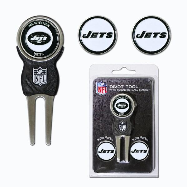 NFL New York Jets Golf Divot Tool Pack