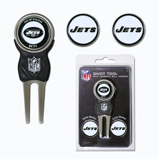 NFL New York Jets Golf Divot Tool Pack