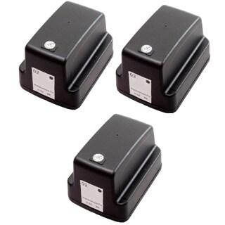 3 Pack HP 02 Black C8721WN Ink Cartridge (Pack of 3)