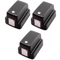 3 Pack HP 02 Black C8721WN Ink Cartridge (Pack of 3)