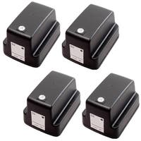4 Pack HP 02 Black C8721WN Ink Cartridge (Pack of 4)