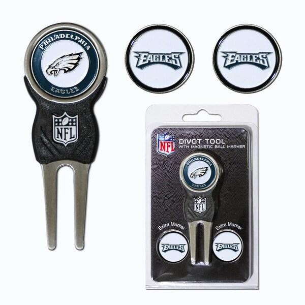 NFL Philadelphia Eagles Golf Divot Tool Pack