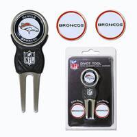 NFL Denver Broncos Golf Divot Tool Pack