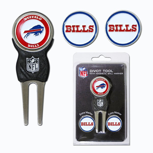 NFL Buffalo Bills Golf Divot Tool Pack