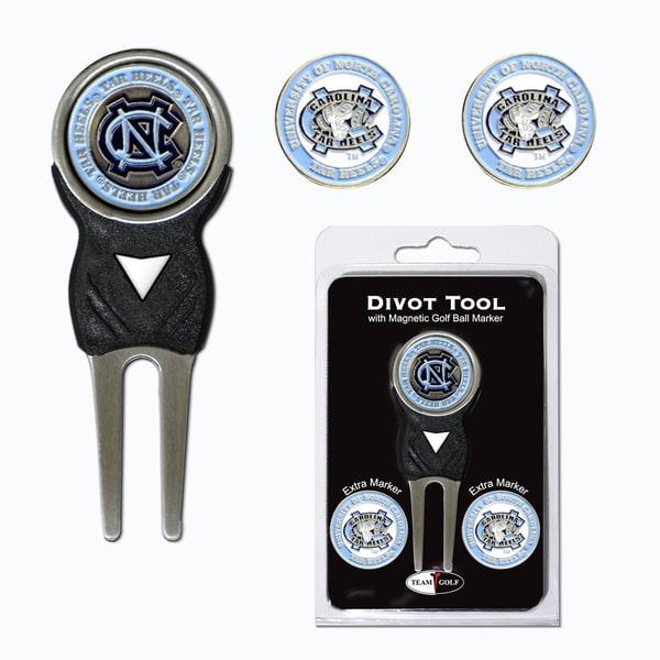 NCAA North Carolina Tar Heels Golf Divot Tool Pack