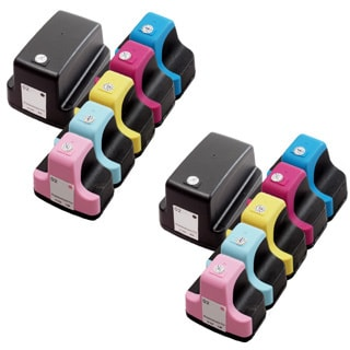 12 Pack HP 02 (2 Black, 2 Cyan, 2 Magenta, 2 Yellow, 2 Light Cyan, 2 Light Magenta ) Ink Cartridge (Pack of 12)