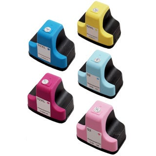(Cyan C8771WN, Magenta C8772WN, Yellow C8773WN, Light Cyan C8774WN, Light Magenta C8775WN) Ink Cartridge (Pack of 5)