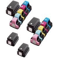 14 Pack HP 02 (4 Black, 2 Cyan, 2 Magenta, 2 Yellow, 2 Light Cyan, 2 Light Magenta ) Ink Cartridge (Pack of 14)