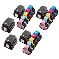 20 Pack HP 02 (5 Black, 3 Cyan, 3 Magenta, 3 Yellow, 3 Light Cyan, 3 Light Magenta ) Ink Cartridge (Pack of 20)