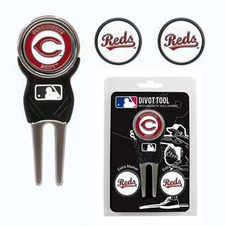 MLB Cincinnati Reds Golf Divot Tool Pack