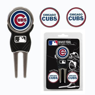 MLB Chicago Cubs Golf Divot Tool Pack