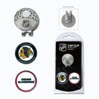 NHL Chicago Blackhawks Magnetic Cap Clip and Marker Set