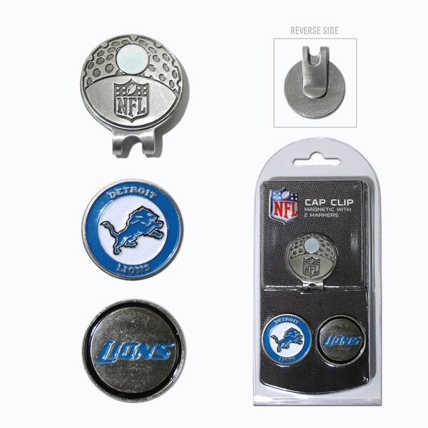 NFL Detroit Lions Magnetic Cap Clip and Marker Set