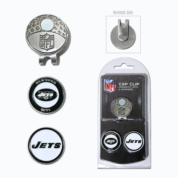 NFL New York Jets Magnetic Cap Clip and Marker Set