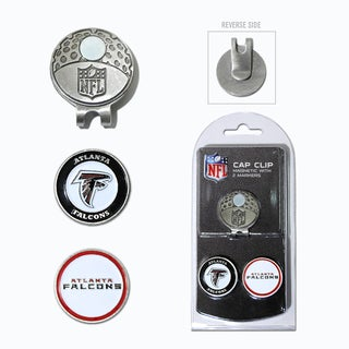 NFL Atlanta Falcons Magnetic Cap Clip and Marker Set