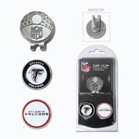 NFL Atlanta Falcons Magnetic Cap Clip and Marker Set