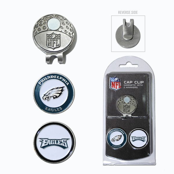Philadelphia Eagles Magnetic Cap Clip and Marker Set