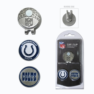 NFL Indianapolis Colts Magnetic Cap Clip and Marker Set