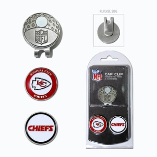 NFL Kansas City Chiefs Magnetic Cap Clip and Marker Set