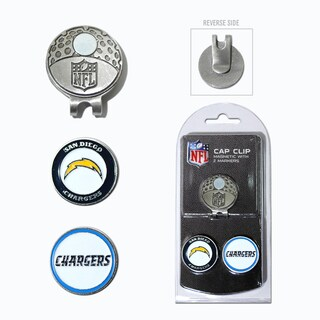NFL San Diego Chargers Magnetic Cap Clip and Marker Set