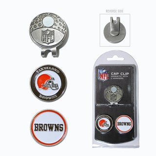 NFL Cleveland Browns Magnetic Cap Clip and Marker Set