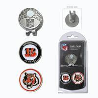 NFL Cincinnati Bengals Magnetic Cap Clip and Marker Set