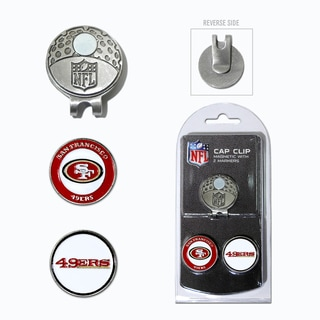 San Francisco 49ers Magnetic Cap Clip and Marker Set
