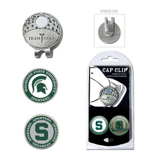 Michigan State Spartan Magnetic Cap Clip and Marker Set