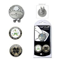 Notre Dame Magnetic Cap Clip and Marker Set