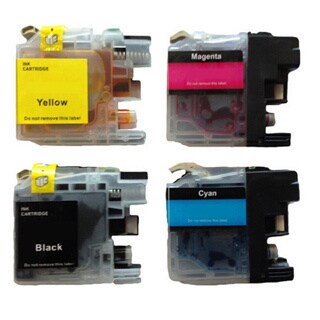 203 LC203 BCYM Ink Cartridge for Brother MFC-J4320DW MFC-J4420DW MFC-J4620DW MFC-J5520DW MFC-J5620DW MFC-J5720DW (Pack of 4)