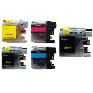 203 LC203 Ink Cartridge for Brother MFC-J4320DW MFC-J4420DW MFC-J4620DW MFC-J5520DW MFC-J5620DW MFC-J5720DW (Pack of 5)