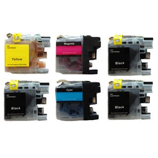 203 LC203 Ink Cartridge for Brother MFC-J4320DW MFC-J4420DW MFC-J4620DW MFC-J5520DW MFC-J5620DW MFC-J5720DW (Pack of 6)