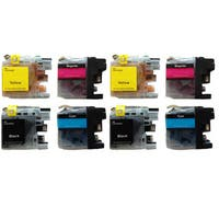 203 LC203 Ink Cartridge for Brother MFC-J4320DW MFC-J4420DW MFC-J4620DW MFC-J5520DW MFC-J5620DW MFC-J5720DW (Pack of 8)
