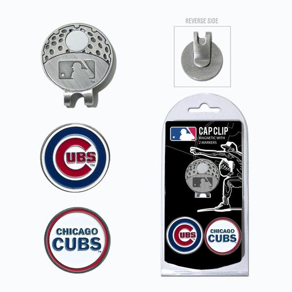 MLB Chicago Cubs Magnetic Cap Clip and Marker Set