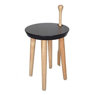 Shogun Round Shoe Stool with Shoe Horn