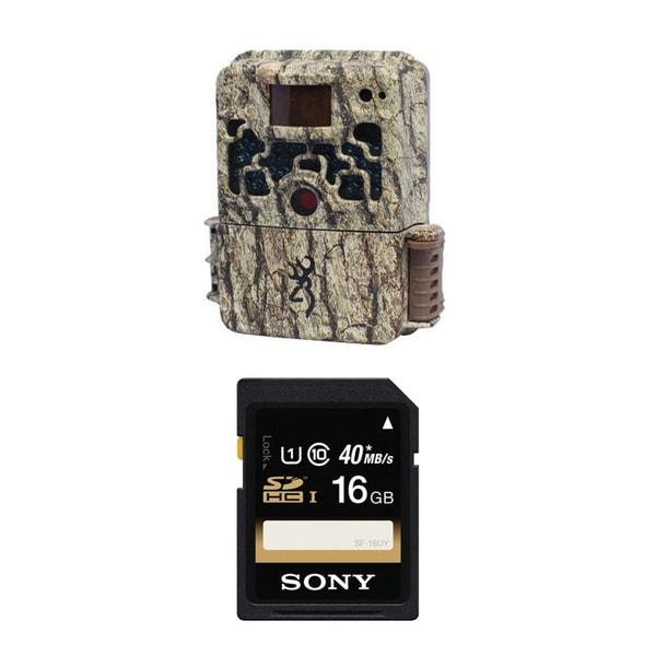Browning STRIKE FORCE BTC5HD Micro Trail Camera (10MP) + Sony 16GB Memory Card