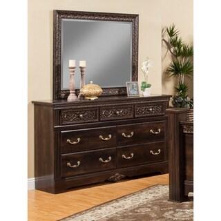 Sandberg Furniture Andorra 7-drawer Dresser and Mirror