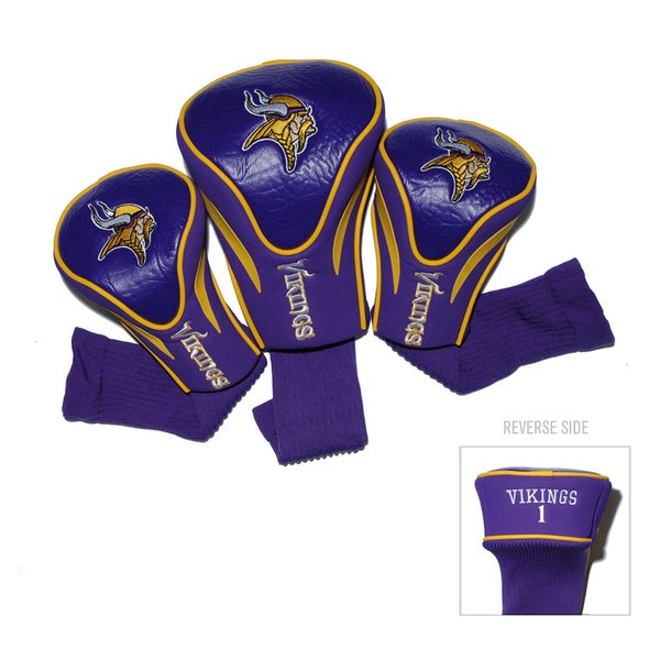 NFL Minnesota Vikings Contour Wood Headcover Set