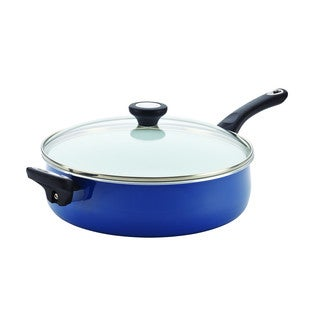 Farberware® PURECOOK(tm) Ceramic Nonstick Cookware 5-Quart Covered Jumbo Cooker with Helper Handle
