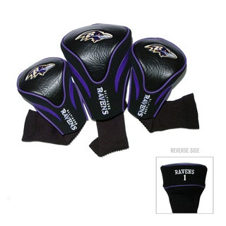 NFL Baltimore Ravens Contour Wood Headcover Set