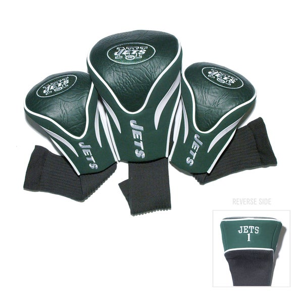 NFL New York Jets Contour Wood Headcover Set
